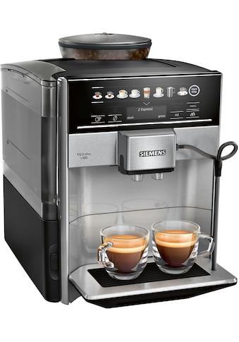 Kaffeevollautomat, Siemens, »S500 TE655503DE grau schwarz« kaufen