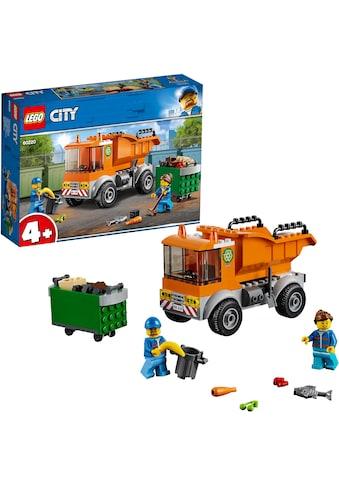 LEGO® Konstruktionsspielsteine »Müllabfuhr (60220), LEGO® City«, (90 St.) kaufen