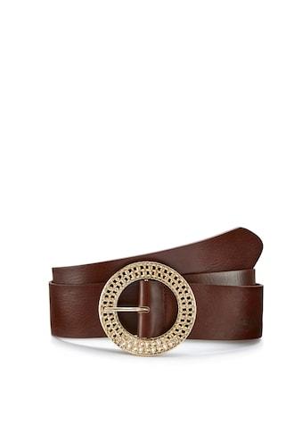 LASCANA Taillengürtel, aus Leder mit dekorativer Zierschnalle kaufen