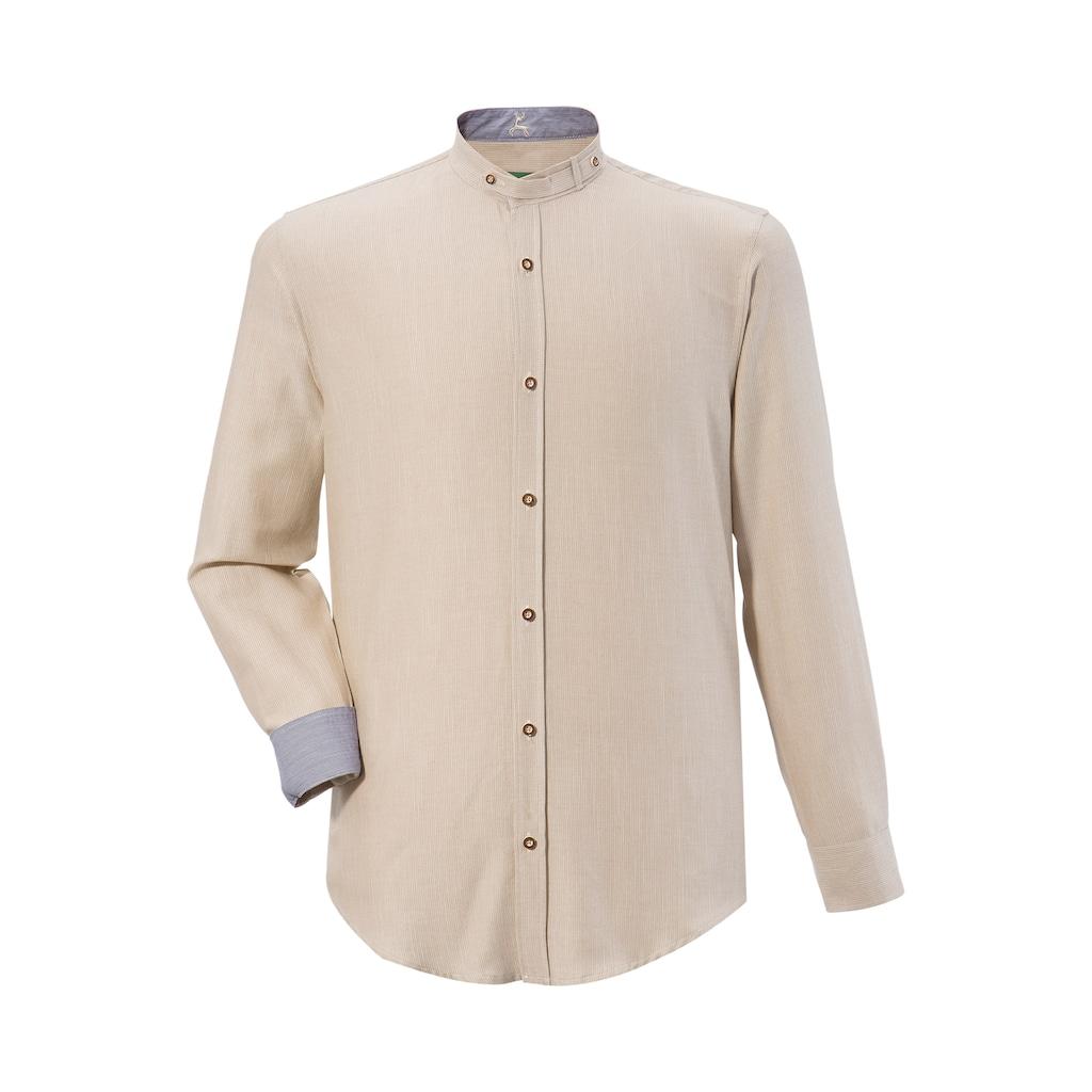 Country Line Trachtenhemd, im Streifendesign