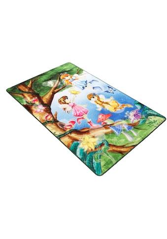 Böing Carpet Kinderteppich »Lovely Kids LK-2 Feen«, rechteckig, 2 mm Höhe, besonders... kaufen