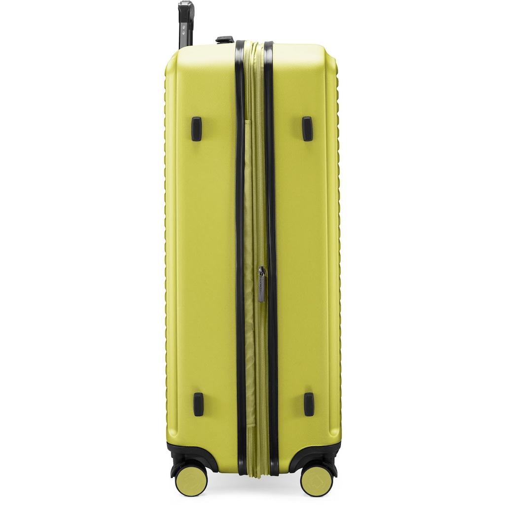 Hauptstadtkoffer Hartschalen-Trolley »Mitte, farn, 77 cm«, 4 Rollen