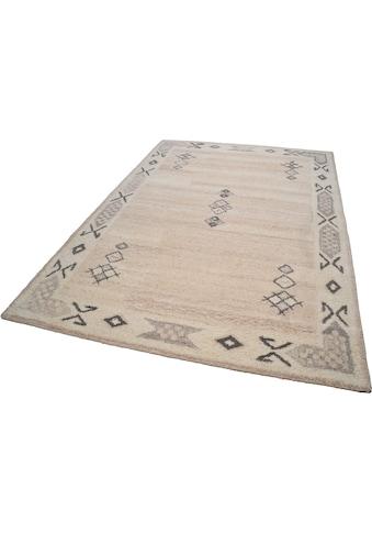 THEKO Wollteppich »Royal Berber«, rechteckig, 18 mm Höhe, reine Schurwolle, Wohnzimmer kaufen