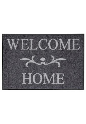 wash+dry by Kleen-Tex Fussmatte »Welcome Home«, rechteckig, 7 mm Höhe,... kaufen