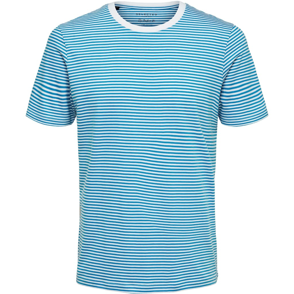 SELECTED HOMME T-Shirt »THE PERFECT STRIPE O-NECK TEE«
