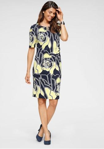 HERMANN LANGE Collection Jerseykleid, in schlichter Form mit tollem Blumen-Allover-Druck kaufen