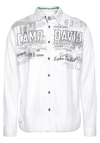 CAMP DAVID Langarmhemd kaufen
