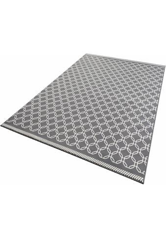 Zala Living Teppich »Chain«, rechteckig, 9 mm Höhe, Kurzflor, gekettelt, Wohnzimmer kaufen