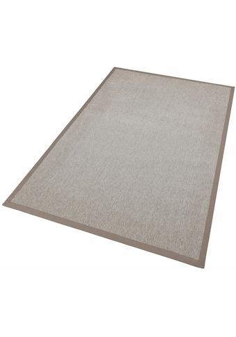 Dekowe Teppich »Naturino Rips«, rechteckig, 7 mm Höhe, Flachgewebe, Sisal-Optik, mit... kaufen