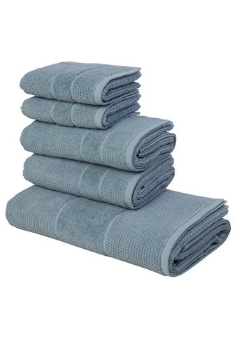 andas Handtuch Set »Kimi«, mit besonderer Struktur kaufen