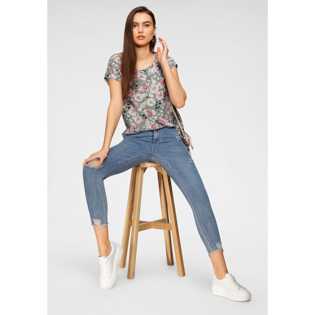 HaILY'S High-waist-Jeans »NESSI«, in 7/8 Länge