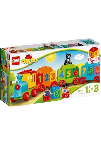 "LEGO® Konstruktionsspielsteine ""Zahlenzug (10847), LEGO® DUPLO®"", Kunststoff, (23 - tlg.) kaufen"