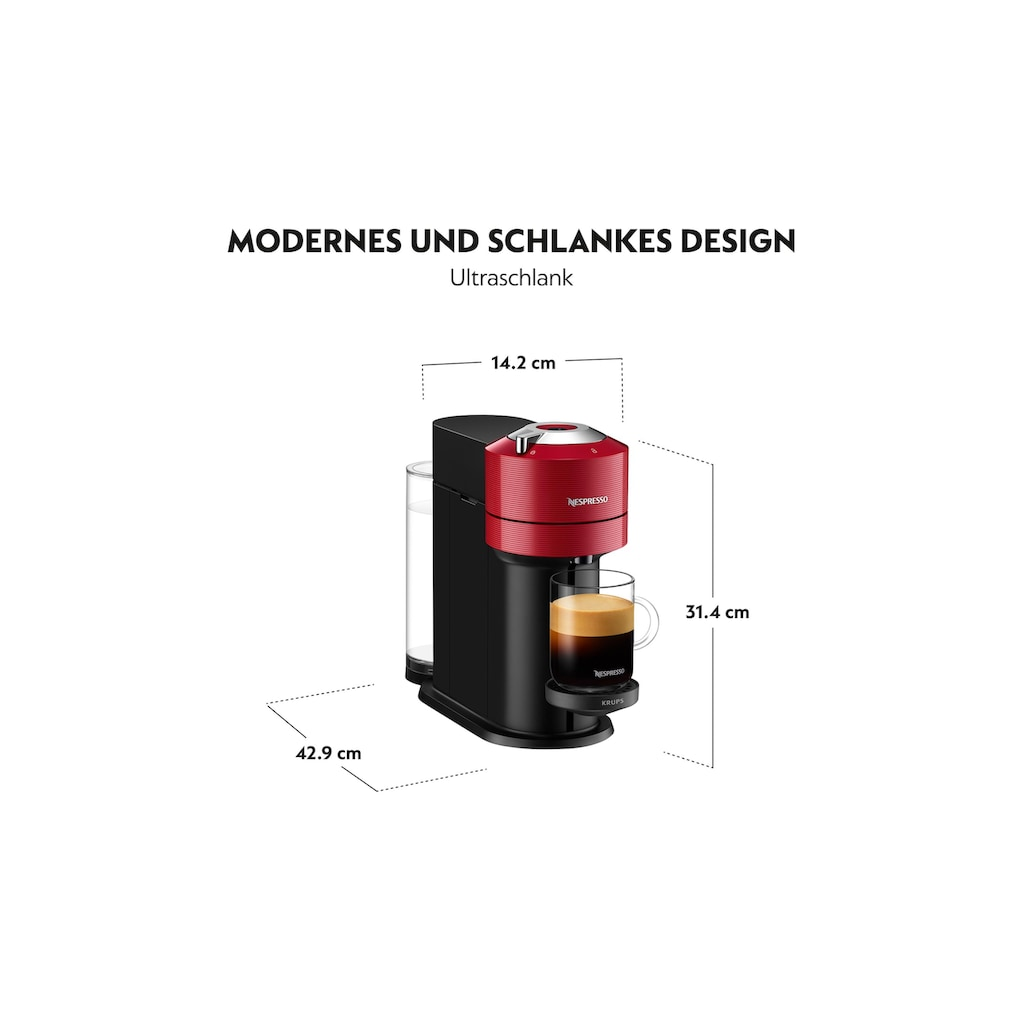 Krups Kapselmaschine »Krups Kaffeemaschine Nespresso Vert«
