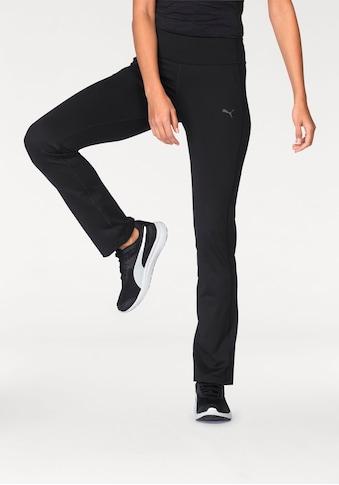 PUMA Jazzpants »WT ESSENTIAL STRAIGHT LEG PANT« kaufen