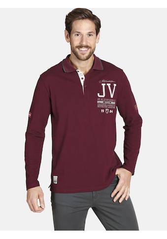 Jan Vanderstorm Langarm-Poloshirt »VEDEL«, aus luftigem Pikee kaufen
