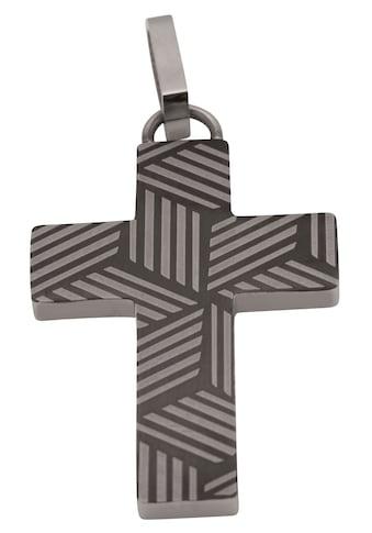Firetti Kreuzanhänger »Für den Glauben, teilweise IP-beschichtet, matt und glänzend«,... kaufen
