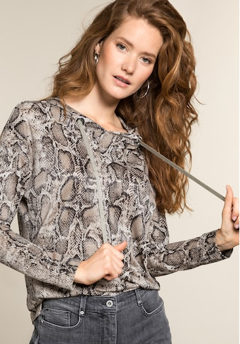 bianca Kapuzenshirt »ELLIS«, im coolen Snake-Design kaufen