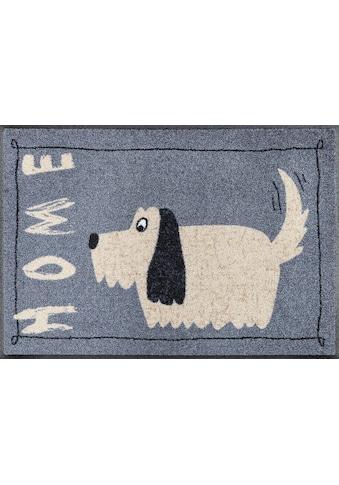 wash+dry by Kleen-Tex Fussmatte »Doggy Home«, rechteckig, 7 mm Höhe, Schmutzfangmatte,... kaufen