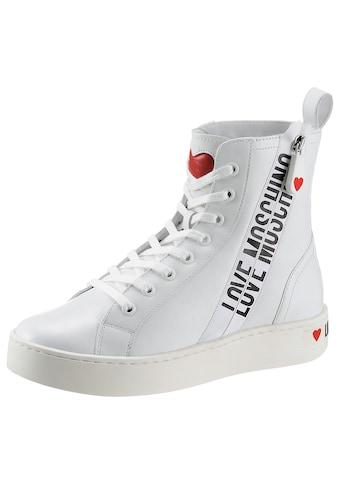 LOVE MOSCHINO Sneaker, mit seitlichem Logoprint kaufen