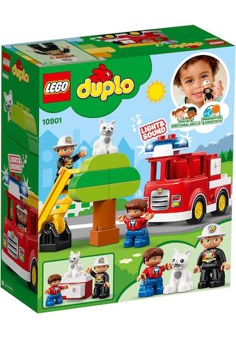LEGO® Konstruktions-Spielset »Feuerwehrauto (10901), LEGO® DUPLO™«, (21 St.) kaufen
