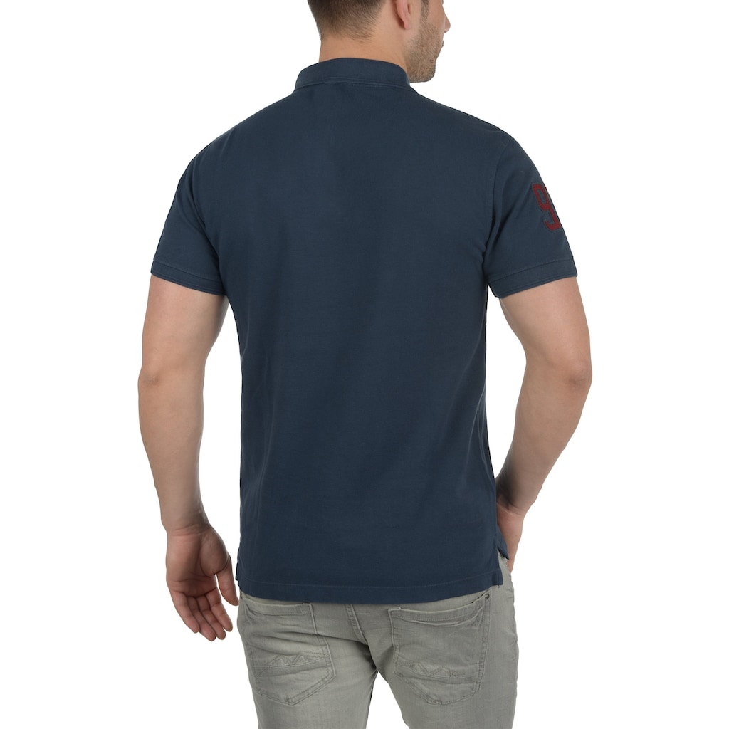 Blend Poloshirt »Dave«, Polo mit Nummern Applikation