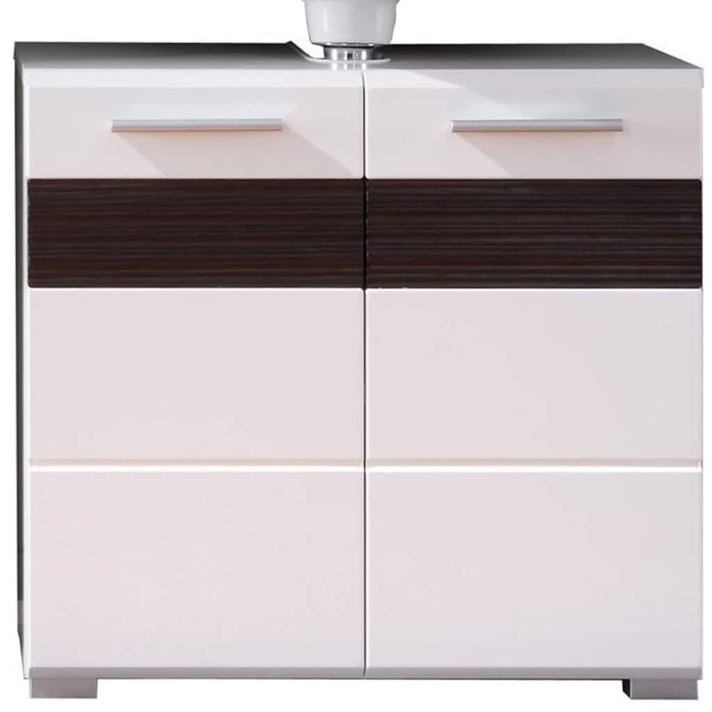 trendteam Waschbeckenunterschrank »Mezzo«, mit Struktur-Front