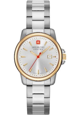 Swiss Military Hanowa Schweizer Uhr »SWISS RECRUIT LADY II, 06-7230.7.55.001« kaufen