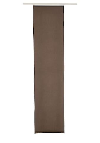 ELBERSDRUCKE Schiebegardine »LINO«, HxB: 245x60, ohne Zubehör kaufen