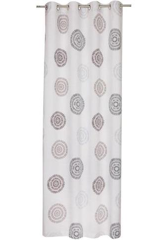 SCHÖNER WOHNEN-Kollektion Vorhang nach Mass »Daisy«, Ösenvorhang mit kreisförmigen Motiv kaufen