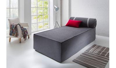 Places of Style Boxspringbett »Base«, ausklappbar auf 200x200 cm kaufen