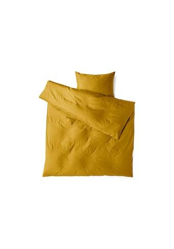 Divina Bettbezug »Mako Satin Uni Curry«, (1 St.) kaufen