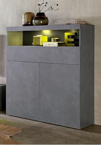 Tecnos Highboard, Breite 100 cm, ohne Beleuchtung kaufen