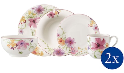Villeroy & Boch Kombiservice »Mariefleur Basic Starter Set«, (Set, 10 tlg.), verspieltes Blütendekor kaufen