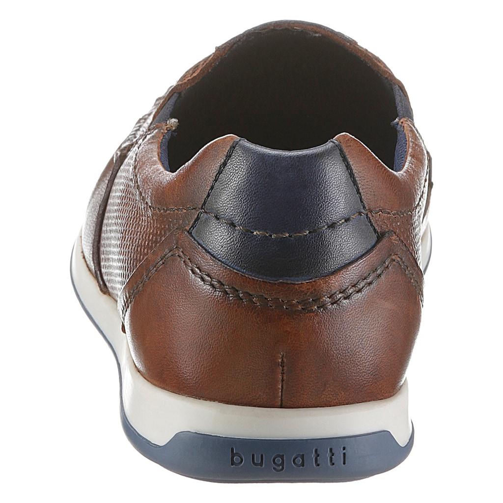 bugatti Slipper »Tomeo Eco«, im Used-Look