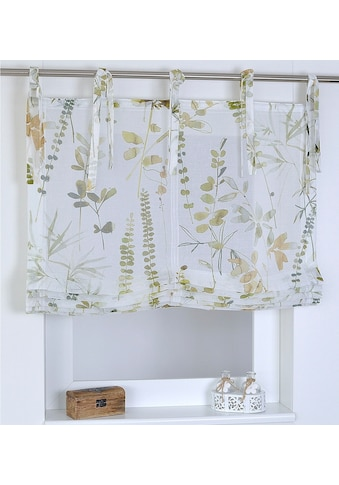 Kutti Raffrollo »Jungle«, mit Bindebänder, freihängend, mit Bindebändern kaufen
