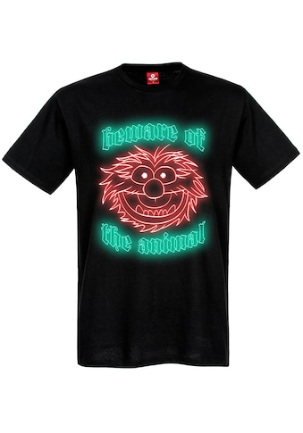 Disney T-Shirt »The Muppets Beware of the Animal« kaufen