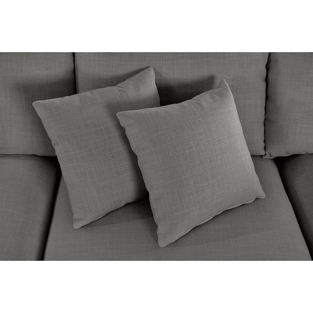 Guido Maria Kretschmer Home&Living Ecksofa »Marble«, zusammengesetzt aus Modulen, 3 Bezugsqualitäten un viele Farben