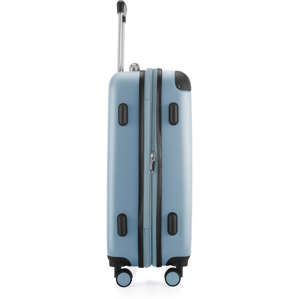 Hauptstadtkoffer Hartschalen-Trolley »Spree, 55 cm, pool blue«, 4 Rollen