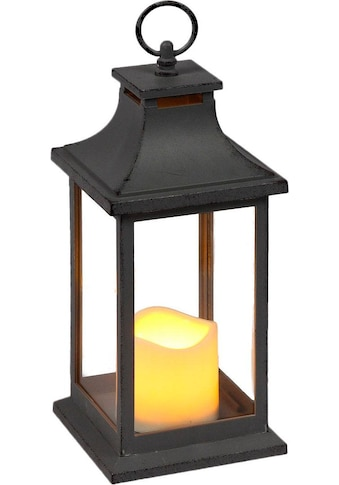 Home affaire Laterne, inkl. LED-Kerze, antikgrau kaufen