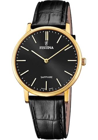 Festina Schweizer Uhr »Festina Swiss Made, F20016/3« kaufen