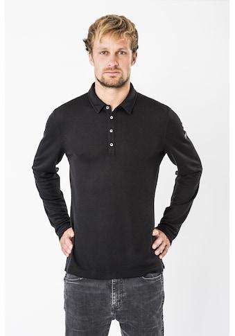 SUPER.NATURAL Poloshirt »M PIQUET LS POLO«, perfekter Merino-Materialmix kaufen