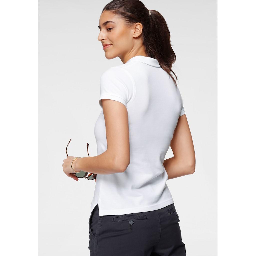 Gant T-Shirt, mit Kontrast Logo-Stickerei auf der Brust