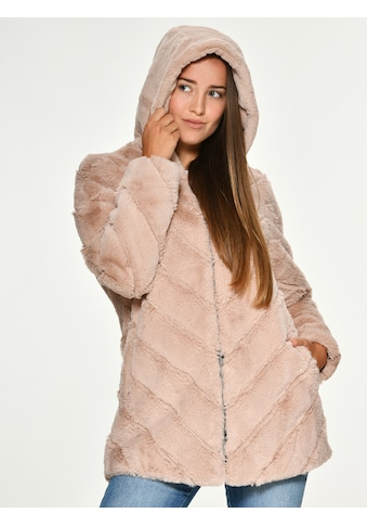 Maze Fake Fur Jacke mit Kapuze »Campana« kaufen