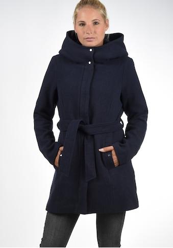 Vero Moda Wollmantel »Wollni«, (mit abnehmbarem Gürtel), Mantel mit grosser Kapuze kaufen