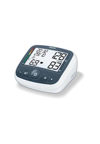 BEURER Oberarm-Blutdruckmessgerät »BM40«, Abschaltautomatik, Arrhythmie-Erkennung,... kaufen