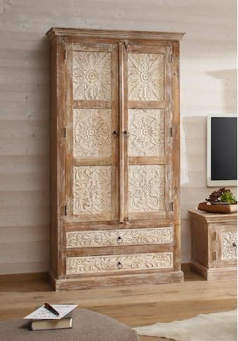 Home affaire Stauraumschrank »Malati«, Breite 105 cm kaufen