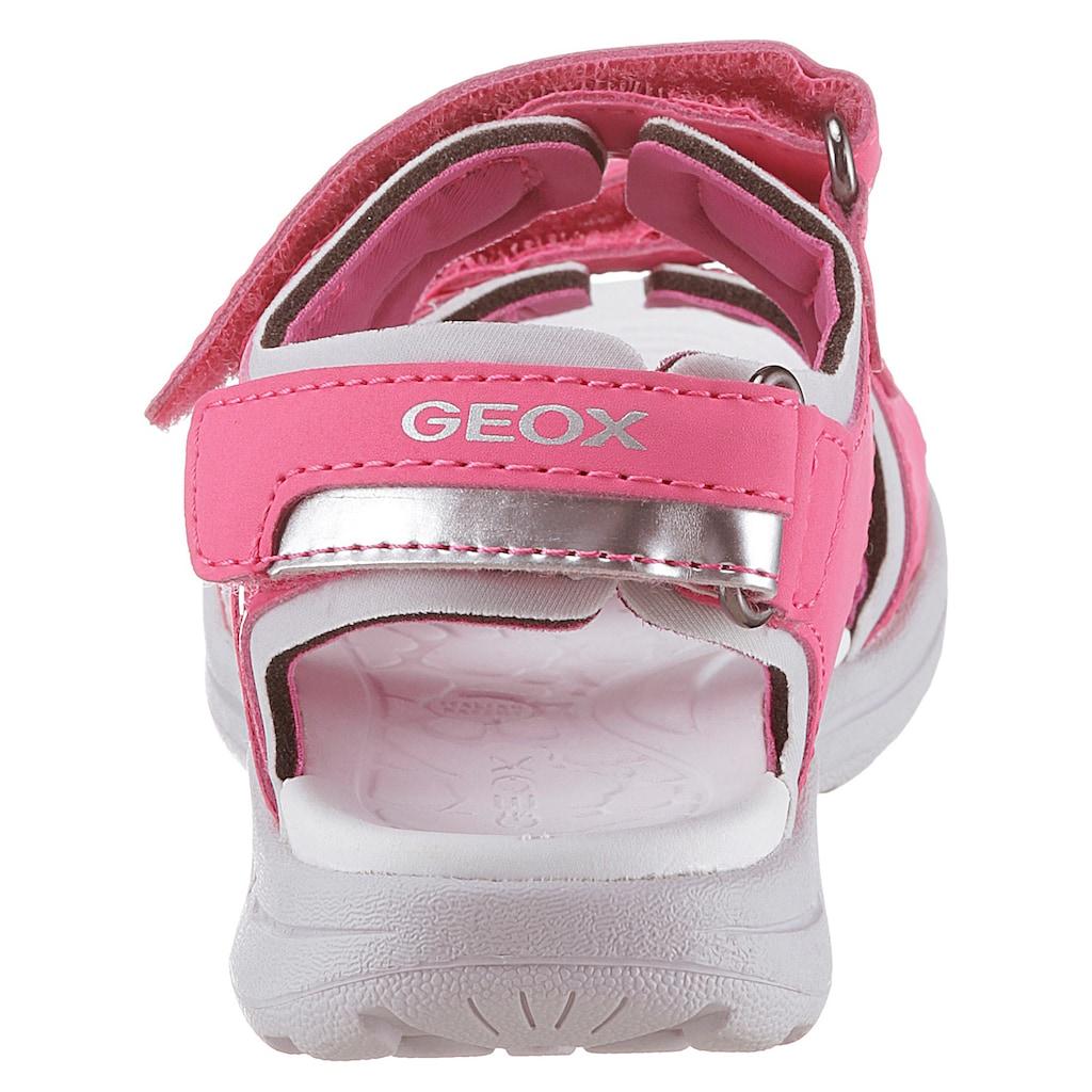 Geox Kids Sandale »Vaniett«, mit praktischen Klettverschlüssen
