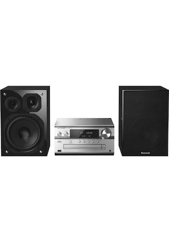 Micro - HiFi Anlage, Panasonic, »SC - PMX152EGS Silberfarben« kaufen