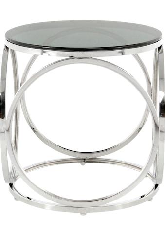 Kayoom Beistelltisch »Beistelltisch Whitney 125«, randlose Tischplatte kaufen