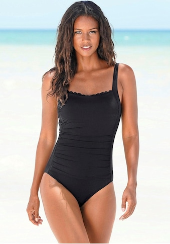 LASCANA Badeanzug »Scallop«, mit Wellenkante kaufen